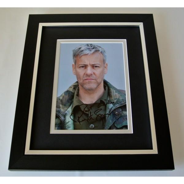 Rupert Graves SIGNED 10x8 FRAMED Photo Autograph Display TV Sherlock & COA  PERFECT GIFT