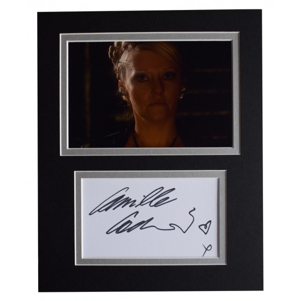 Camille Coduri Signed Autograph 10x8 photo display Doctor Who TV   AFTAL  COA Memorabilia PERFECT GIFT