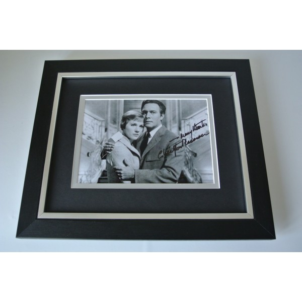 Christopher Plummer SIGNED 10x8 FRAMED Photo Autograph Display Sound of Music    PERFECT GIFT