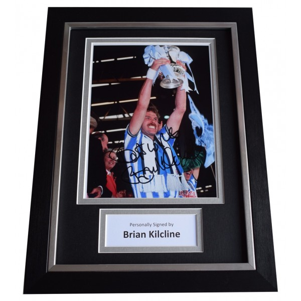 Brian Kilcline Signed A4 FRAMED Autograph Photo Display Coventry City  AFTAL  COA Memorabilia PERFECT GIFT