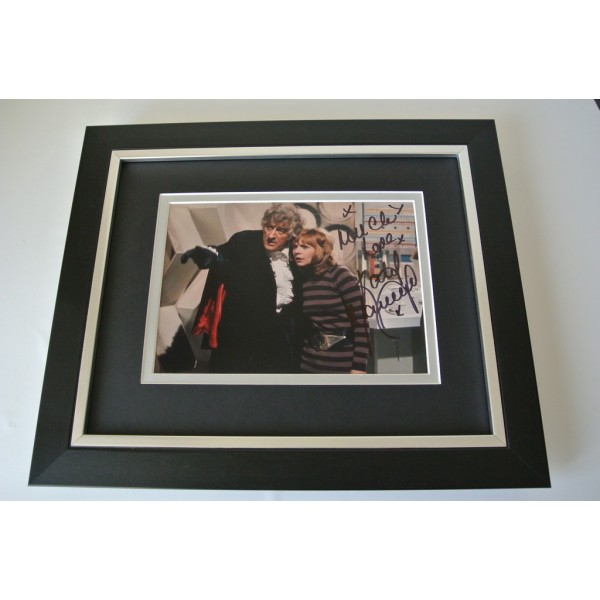 Katy Manning SIGNED 10x8 FRAMED Photo Autograph Display TV Doctor Who & COA  PERFECT GIFT