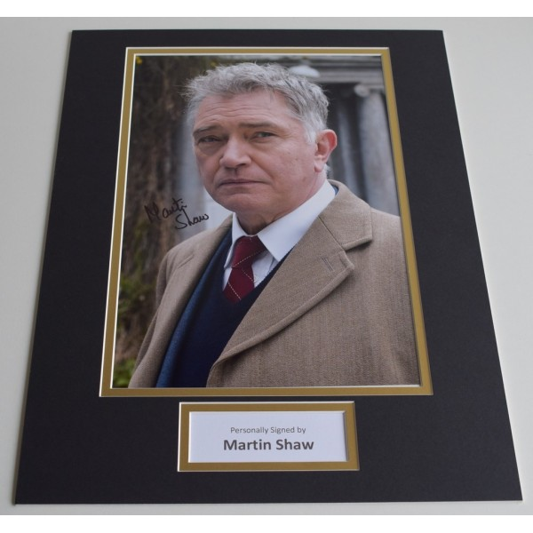 Martin Shaw SIGNED autograph 16x12 photo display TV George Gently  AFTAL & COA Memorabilia PERFECT GIFT