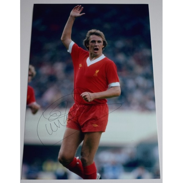 Phil Neal SIGNED 12x8 Photo Autograph Liverpool Football Sport AFTAL &  COA Memorabilia PERFECT GIFT