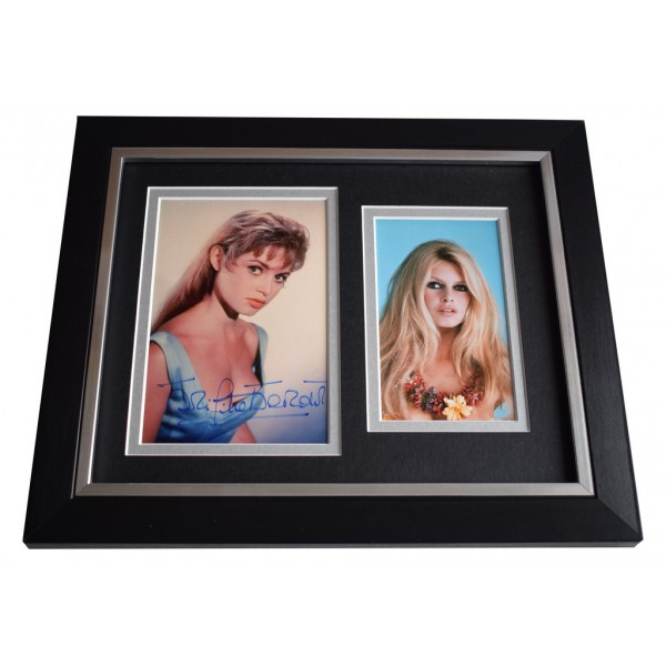 Brigitte Bardot SIGNED 10x8 FRAMED Photo Autograph Display Hollywood Films  AFTAL  COA Memorabilia PERFECT GIFT