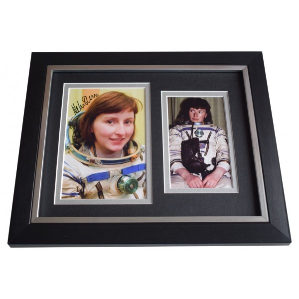 Helen Sharman SIGNED 10x8 FRAMED Photo Autograph Display First Briton in Space AFTAL  COA Memorabilia PERFECT GIFT