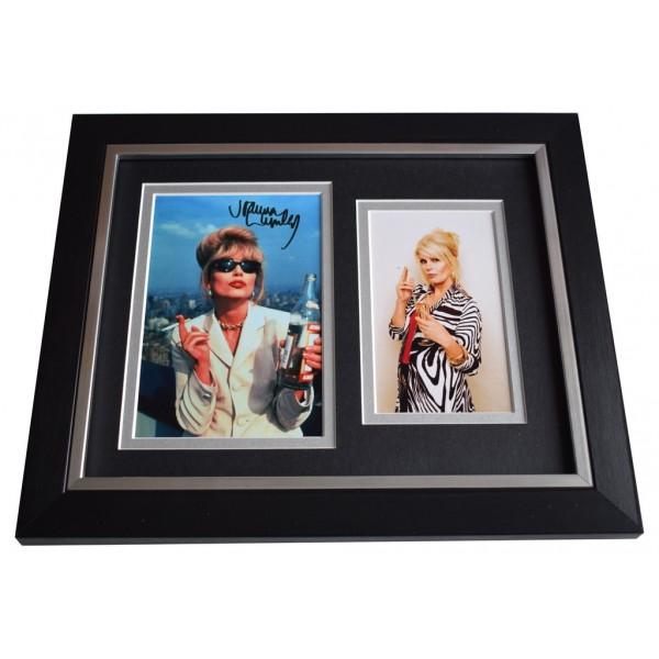 Joanna Lumley SIGNED 10x8 FRAMED Photo Autograph Display Ab Fab TV  AFTAL  COA Memorabilia PERFECT GIFT