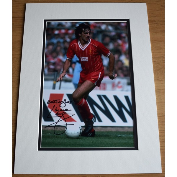 Mark Lawrenson SIGNED autograph 16x12 photo display Liverpool Football AFTAL &  COA Memorabilia PERFECT GIFT