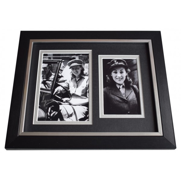Vera Lynn SIGNED 10x8 FRAMED Photo Autograph Display WW2 Music  AFTAL  COA Memorabilia PERFECT GIFT