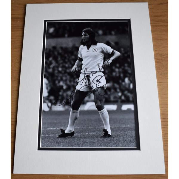 Frank Worthington SIGNED autograph 16x12 photo display Leicester City   AFTAL &  COA Memorabilia PERFECT GIFT