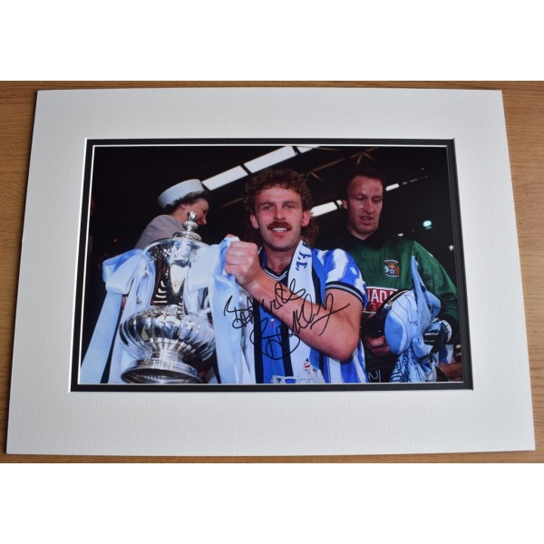 Brian Kilcline SIGNED autograph 16x12 photo display Coventry City Football    AFTAL &  COA Memorabilia PERFECT GIFT