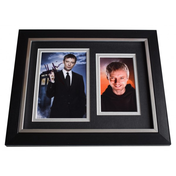 John Simm SIGNED 10x8 FRAMED Photo Autograph Display Doctor Who AFTAL  COA Memorabilia PERFECT GIFT