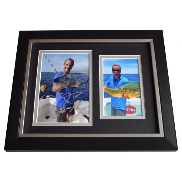 Robson Green SIGNED 10x8 FRAMED Photo Autograph Display Extreme Fishing AFTAL  COA Memorabilia PERFECT GIFT