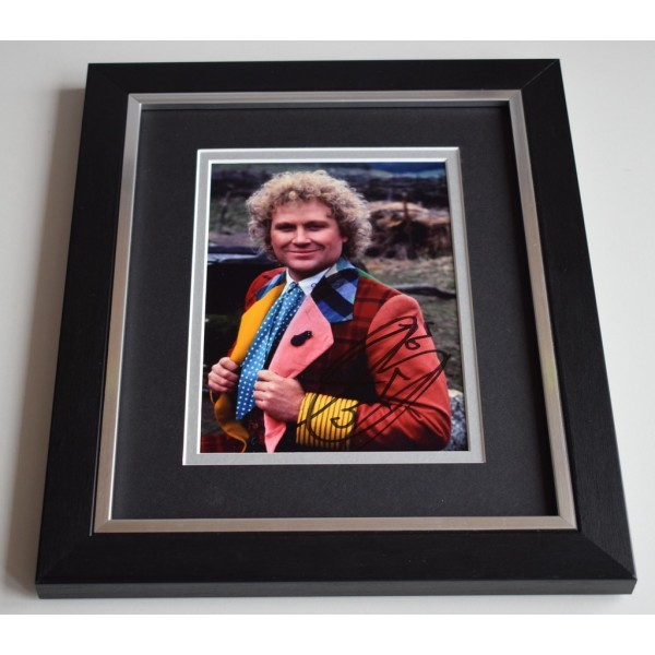 Colin Baker SIGNED 10X8 FRAMED Photo Autograph TV Doctor Who  AFTAL & COA Memorabilia PERFECT GIFT
