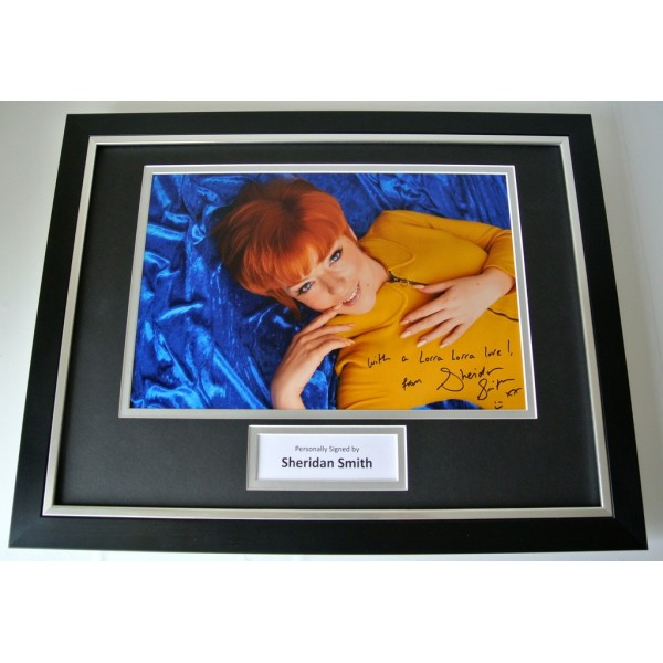 Sheridan Smith SIGNED FRAMED Photo Autograph 16x12 display Cilla Black TV & COA  PERFECT GIFT