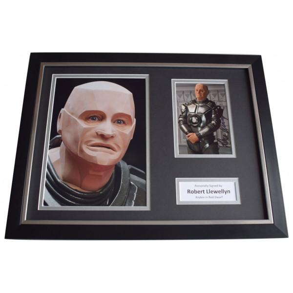 Robert Llewellyn SIGNED FRAMED Photo Autograph 16x12 display Red Dwarf TVAFTAL  COA Memorabilia PERFECT GIFT