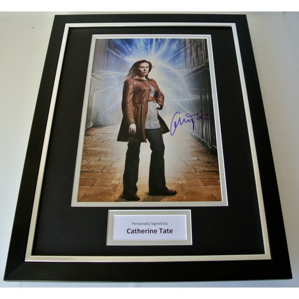 Catherine Tate SIGNED FRAMED Photo Autograph 16x12 display Doctor Dr Who TV COA   PERFECT GIFT