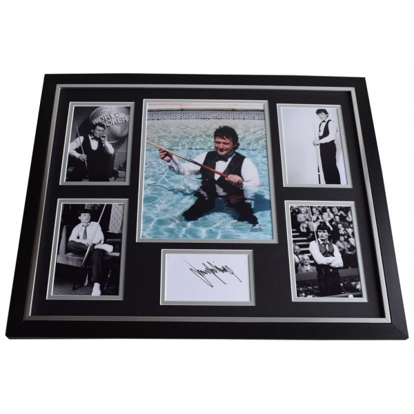 James Jimmy White SIGNED Framed Photo Autograph Huge display Snooker   AFTAL & COA Memorabilia PERFECT GIFT