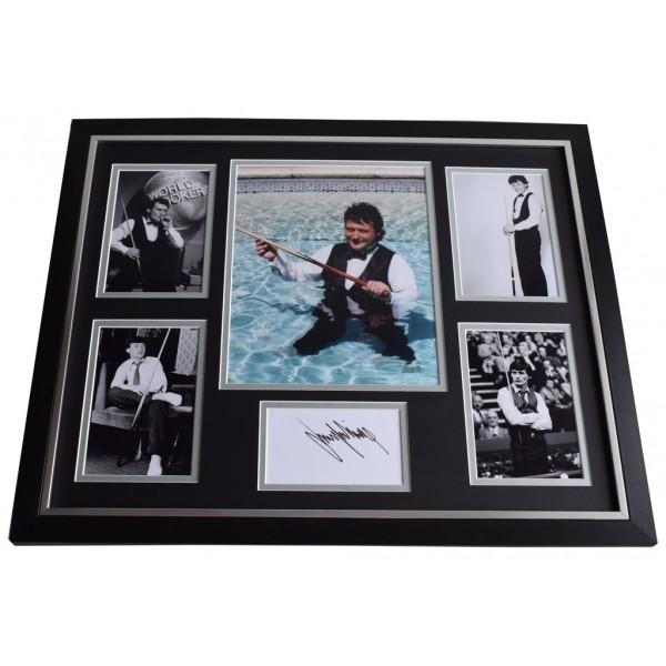 James Jimmy White SIGNED Framed Photo Autograph Huge display Snooker   AFTAL & COA Memorabilia PERFECT GIFT