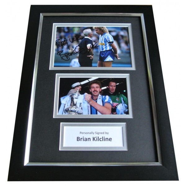 Brian Kilcline Signed A4 FRAMED Photo Autograph Display Coventry Football Memorabilia  AFTAL & COA PERFECT GIFT