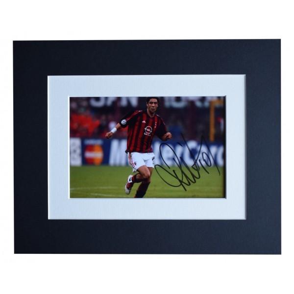 Rui Costa Signed Autograph 10x8 photo display AC Milan Football   AFTAL  COA Memorabilia PERFECT GIFT