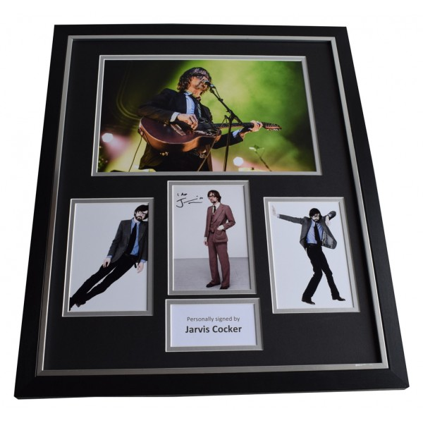 Jarvis Cocker SIGNED Framed Photo Autograph Huge display Pulp Music  AFTAL & COA Memorabilia PERFECT GIFT