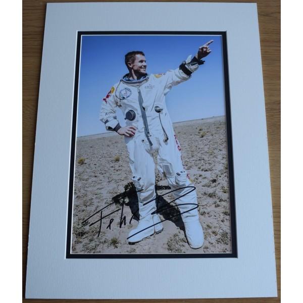 Felix Baumgartner SIGNED autograph 16x12 photo display Space Jump  AFTAL &  COA Memorabilia PERFECT GIFT