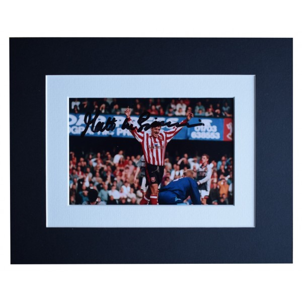 Matt le Tissier Signed Autograph 10x8 photo display Southampton Football   AFTAL  COA Memorabilia PERFECT GIFT