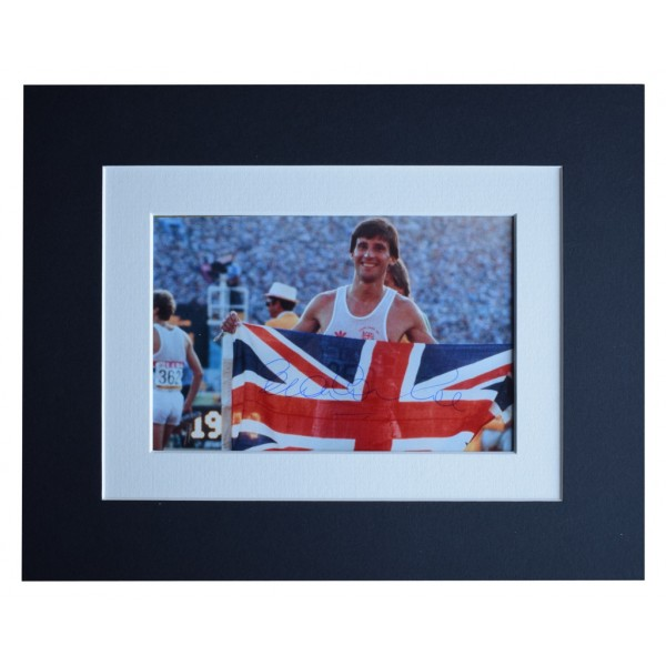 Sebastian Seb Coe Signed Autograph 10x8 photo display Olympic 1500m AFTAL  COA Memorabilia PERFECT GIFT