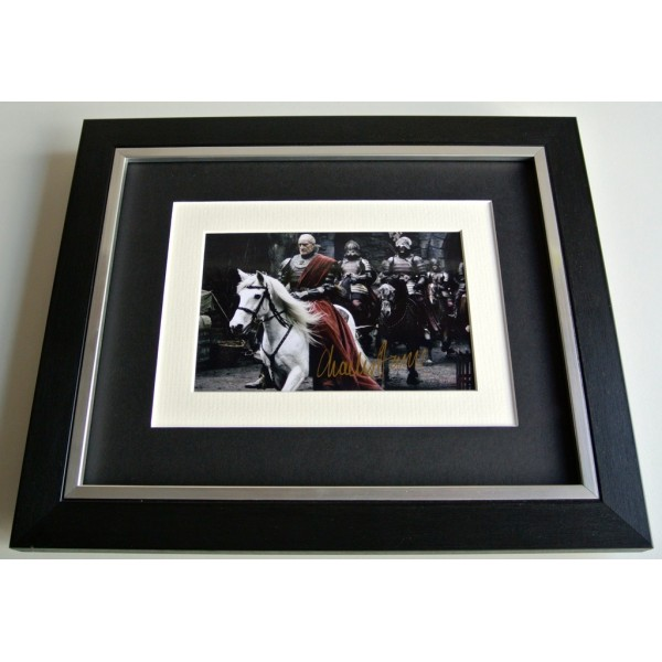 Charles Dance SIGNED 10x8 FRAMED Photo Autograph Display Game of Thrones TV COA   PERFECT GIFT