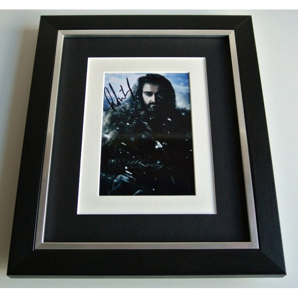 Richard Armitage SIGNED 10x8 FRAMED Photo Autograph Display Hobbit Film & COA       PERFECT GIFT
