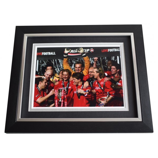 Bolo Zenden SIGNED 10x8 FRAMED Photo Autograph Display Middlesbrough AFTAL  COA Memorabilia PERFECT GIFT