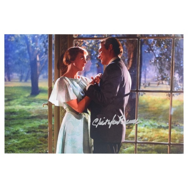 Christopher Plummer SIGNED 12x8 Photo Autograph Sound of Music Film  AFTAL  COA Memorabilia PERFECT GIFT