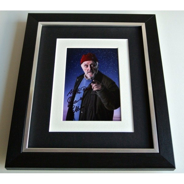 Bernard Cribbins SIGNED 10x8 FRAMED Photo Autograph Display Doctor Who TV & COA       PERFECT GIFT