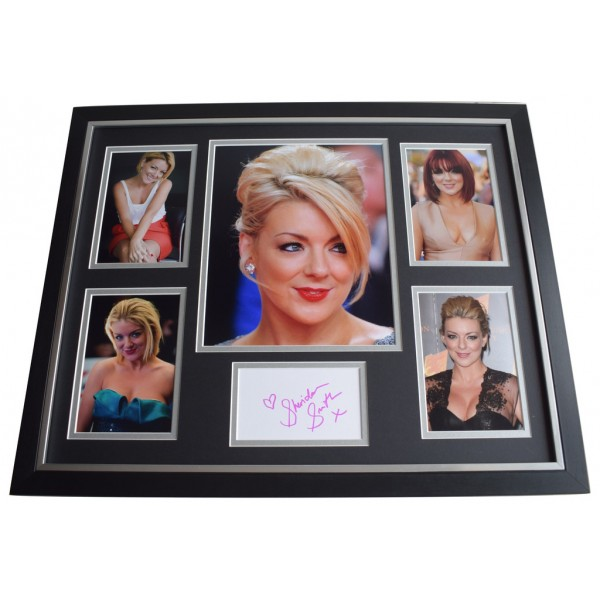 Sheridan Smith SIGNED Framed Photo Autograph Huge display Two Pints Lager  AFTAL  COA Memorabilia PERFECT GIFT