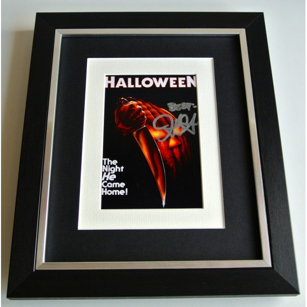 John Carpenter SIGNED 10x8 FRAMED Photo Autograph Display Halloween Film & COA             PERFECT GIFT