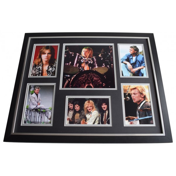 Roger Taylor SIGNED Framed Photo Autograph Huge display Queen Music  AFTAL  COA Memorabilia PERFECT GIFT