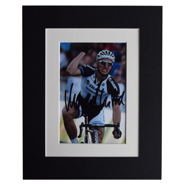 Marcel Kittel Signed Autograph 10x8 photo display Cycling Sport  AFTAL  COA Memorabilia PERFECT GIFT