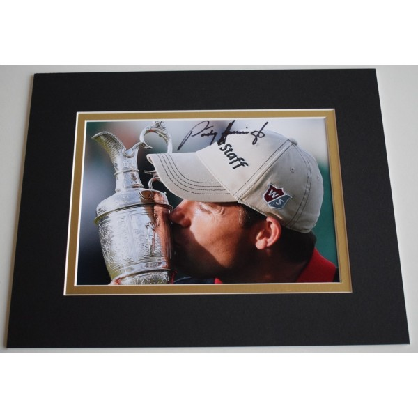 Padraig Harrington Signed Autograph 10x8 photo display Golf Sport     AFTAL & COA Memorabilia PERFECT GIFT