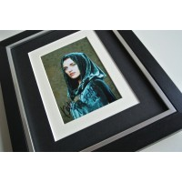 Katie McGrath SIGNED 10x8 FRAMED Photo Autograph Display Merlin TV Morgana COA          PERFECT GIFT