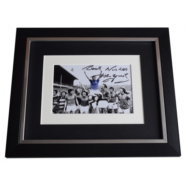 John Greig SIGNED 10x8 FRAMED Photo Autograph Display Rangers  AFTAL  COA Memorabilia PERFECT GIFT