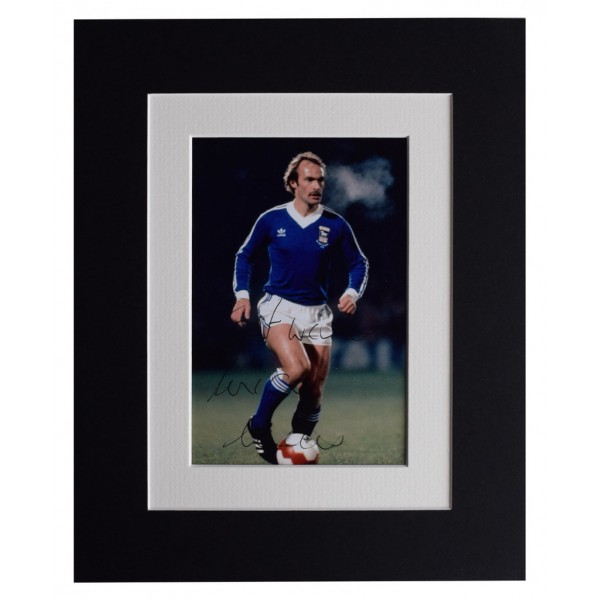 Mick Mills Signed Autograph 10x8 photo display Ipswich Town Football AFTAL  COA Memorabilia PERFECT GIFT