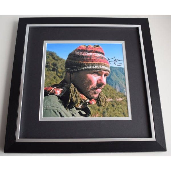 Karl Pilkington SIGNED Framed LARGE Square Photo Autograph display Idiot Abroad  AFTAL &  COA Memorabilia PERFECT GIFT
