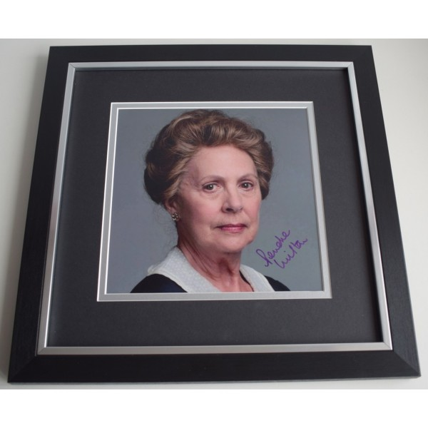 Penelope Wilton SIGNED Framed LARGE Square Photo Autograph display Downton Abbey AFTAL &  COA Memorabilia PERFECT GIFT