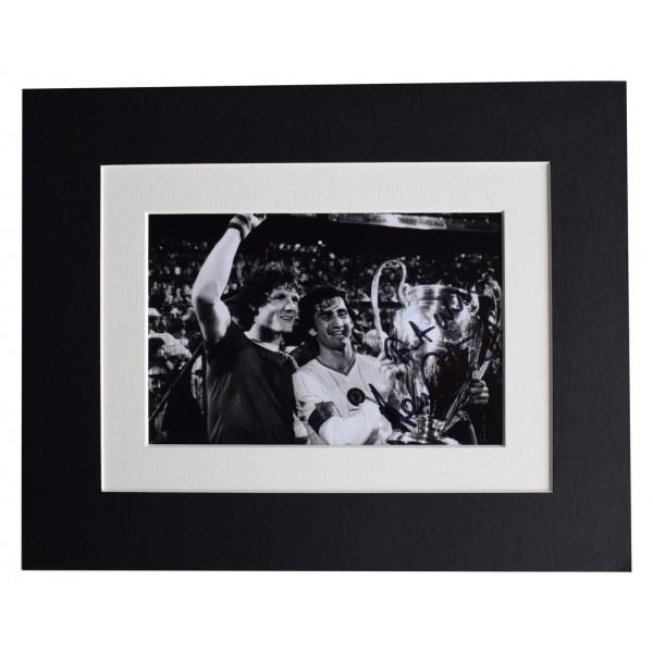 Dennis Mortimer Signed Autograph 10x8 photo display Aston Villa  AFTAL  COA Memorabilia PERFECT GIFT
