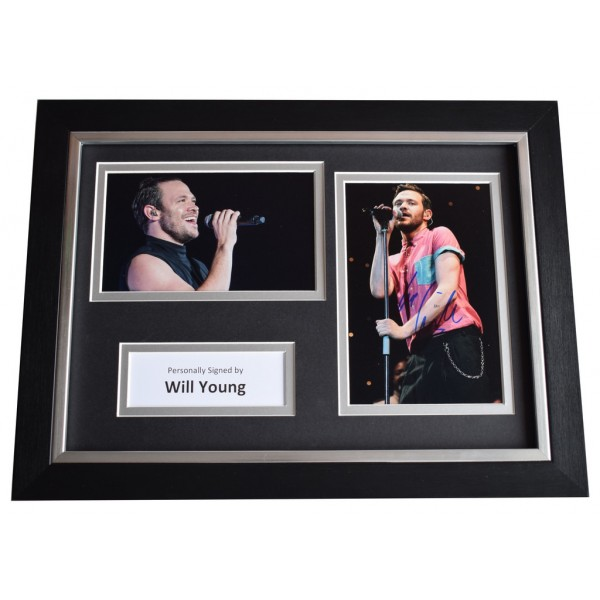 Will Young Signed A4 FRAMED Autograph Photo Display Music AFTAL  COA Memorabilia PERFECT GIFT