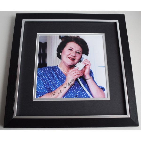 Patricia Routledge SIGNED Framed LARGE Square Photo Autograph display TV AFTAL &  COA Memorabilia PERFECT GIFT