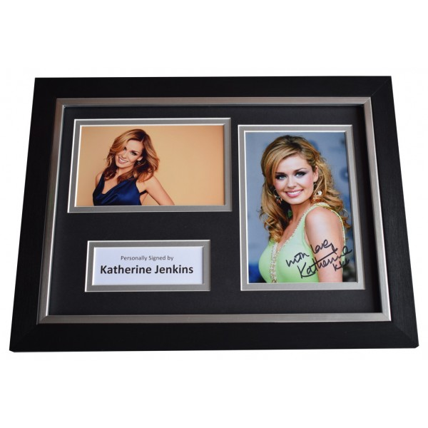 Katherine Jenkins Signed A4 FRAMED Autograph Photo Display Opera Music AFTAL  COA Memorabilia PERFECT GIFT