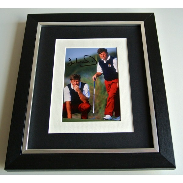 Ian Woosnam SIGNED 10x8 FRAMED Photo Autograph Display Golf Sport & COA          PERFECT GIFT