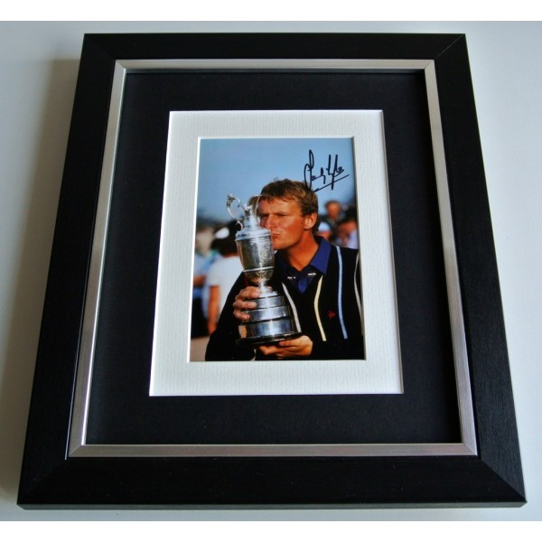Sandy Lyle SIGNED 10x8 FRAMED Photo Mount Autograph Display Golf Sport & COA             PERFECT GIFT