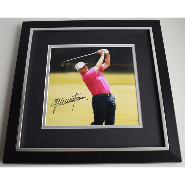 Colin Montgomerie SIGNED Framed LARGE Square Photo Autograph display Golf  AFTAL &  COA Memorabilia PERFECT GIFT